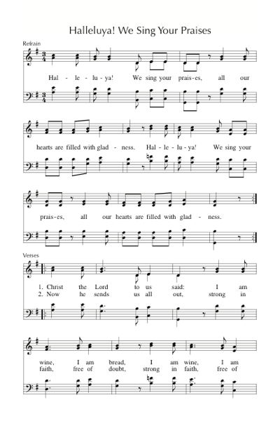 Singing From The Lectionary Songs Hymns And Music For Easter