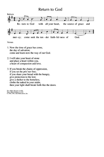 Singing from the Lectionary: January 2015